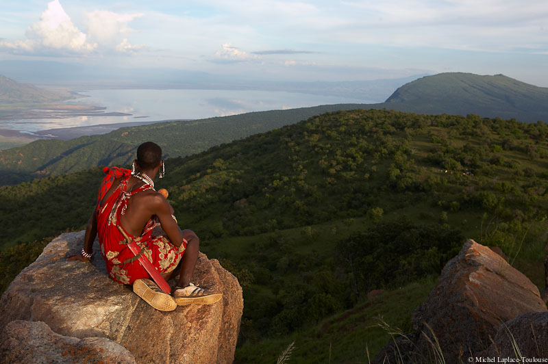 Loita Masai on the edge of the Rift Valley